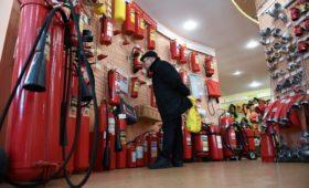 Продавцы огнетушителей отметили рост спроса на свою продукцию