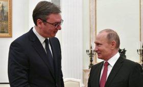 Президент Сербии запланировал рабочий ужин сПутиным 8мая&nbsp