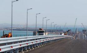 Правительство перенесло завершение работ по безопасности Крымского моста