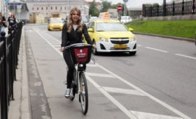 В Петербурге запустили первый в России навигатор для велосипедистов