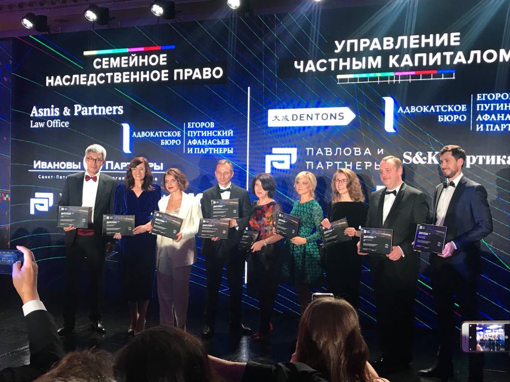 Рейтинг лучших юридических фирм России